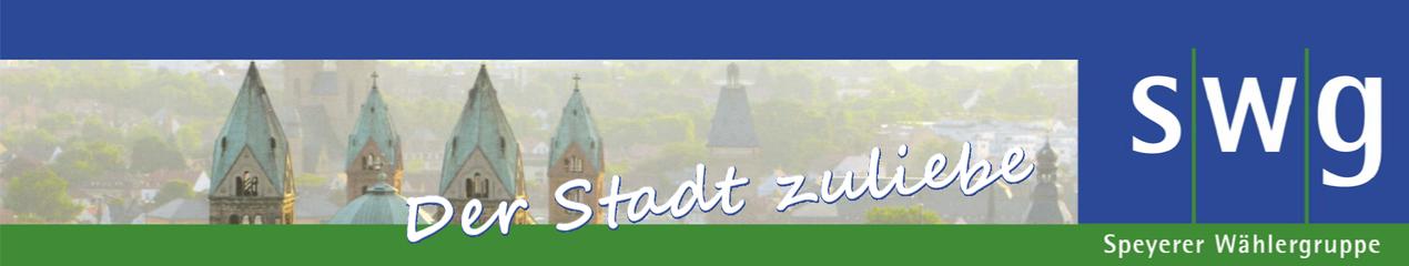 Speyerer Wählergruppe – Der Stadt Speyer zuliebe für die Bürger aktiv.