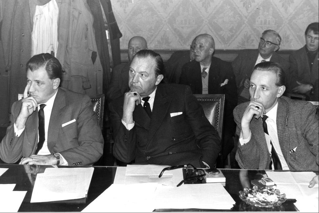 Gert Boegner als Fraktionssprecher